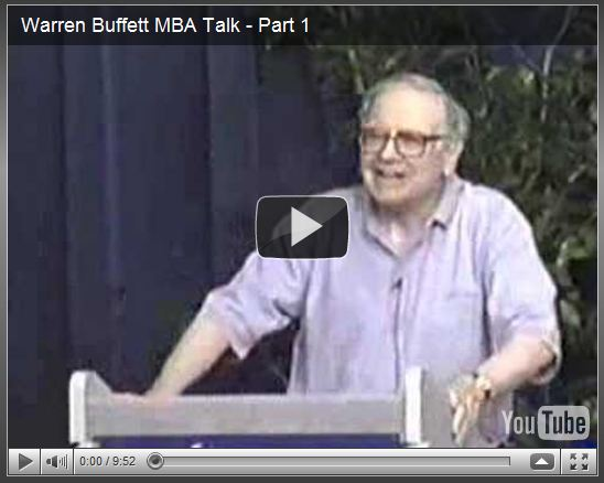Warren Buffett MBA Talk